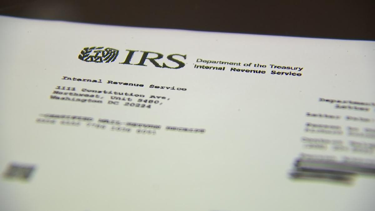 What To Do If You Receive A Letter From The Irs Tslnh Londonderry Nh